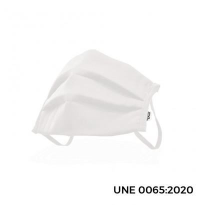 *ult.unidades* mascarilla antibacteriana reutilizable talla l color blanco