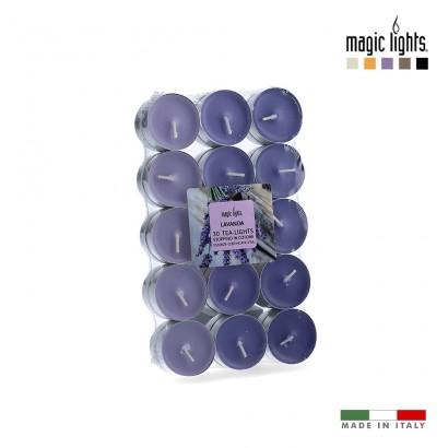 Velas perfumadas lavanda 30uni. magic lights