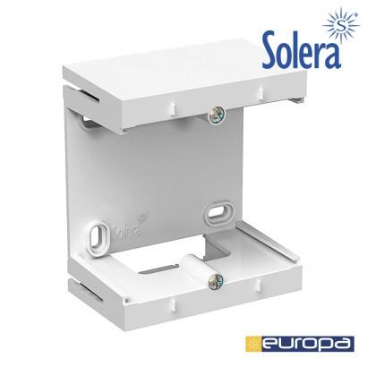 Accesorio para hacer ampliaciones de la caja erp-100u blanco. s.europa solera