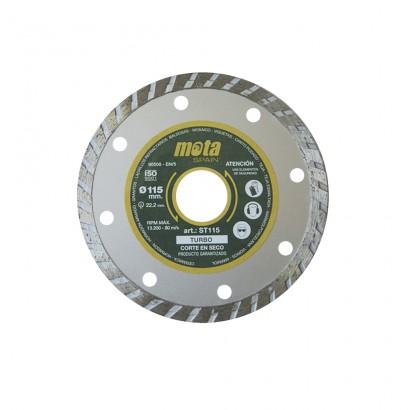 Disco diamantado turbo de 230mm  st230