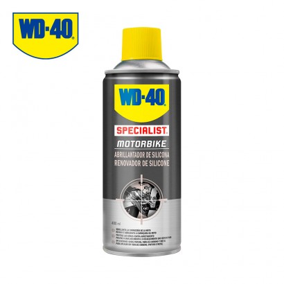 Abrillantador de silicona 400ml wd40